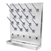stainless steel pegboard