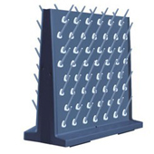 double faced pegboard